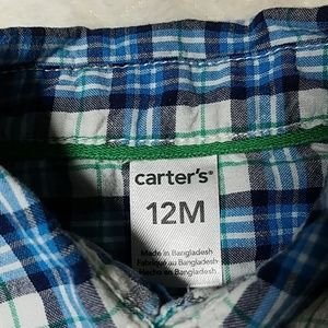 Carter's Matching Sets - 12M outfit